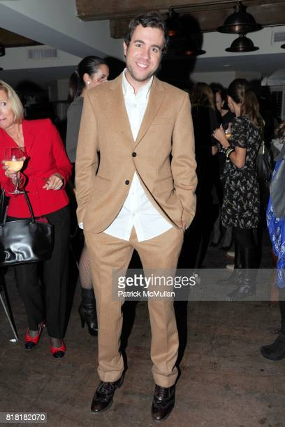 Kristian Laliberte attends 'Forgotten Fashion' book party honoring the release of Let's Bring Back by Lesley MM Blume at Library on November 16 2010...