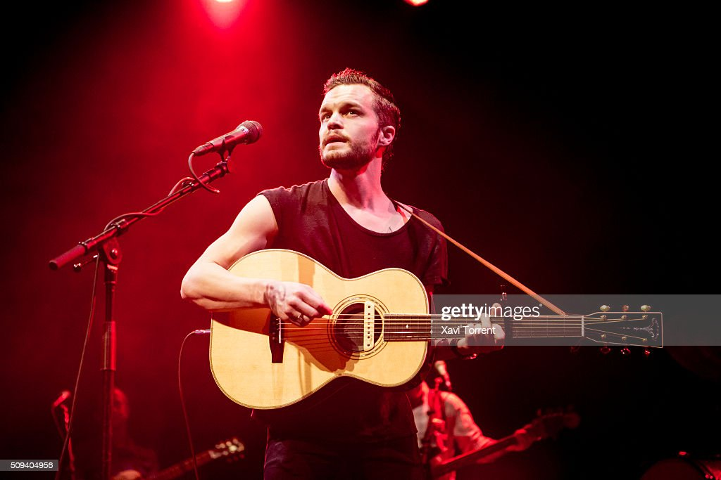 Kristian Matsson of The Tallest Man on Earth performs in concert at Sala Barts on February 10, 2016 in Barcelona, Spain.