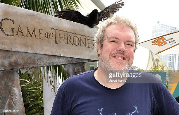 Kristian Nairn attends WIRED Cafe at ComicCon held at Palm Terrace at the Omni Hotel on July 12 2012 in San Diego California