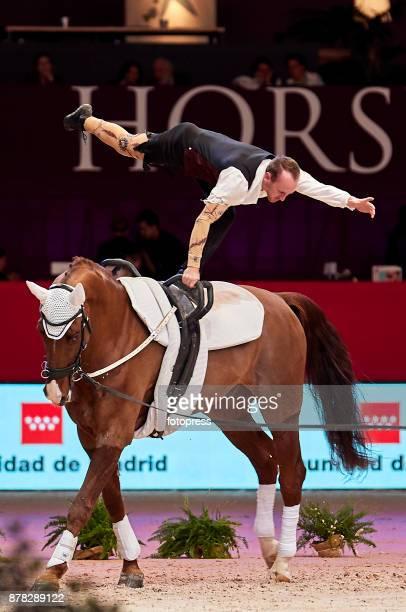 Kristian Roberts attends the Madrid Horse Week 2017 at IFEMA on November 23 2017 in Madrid Spain