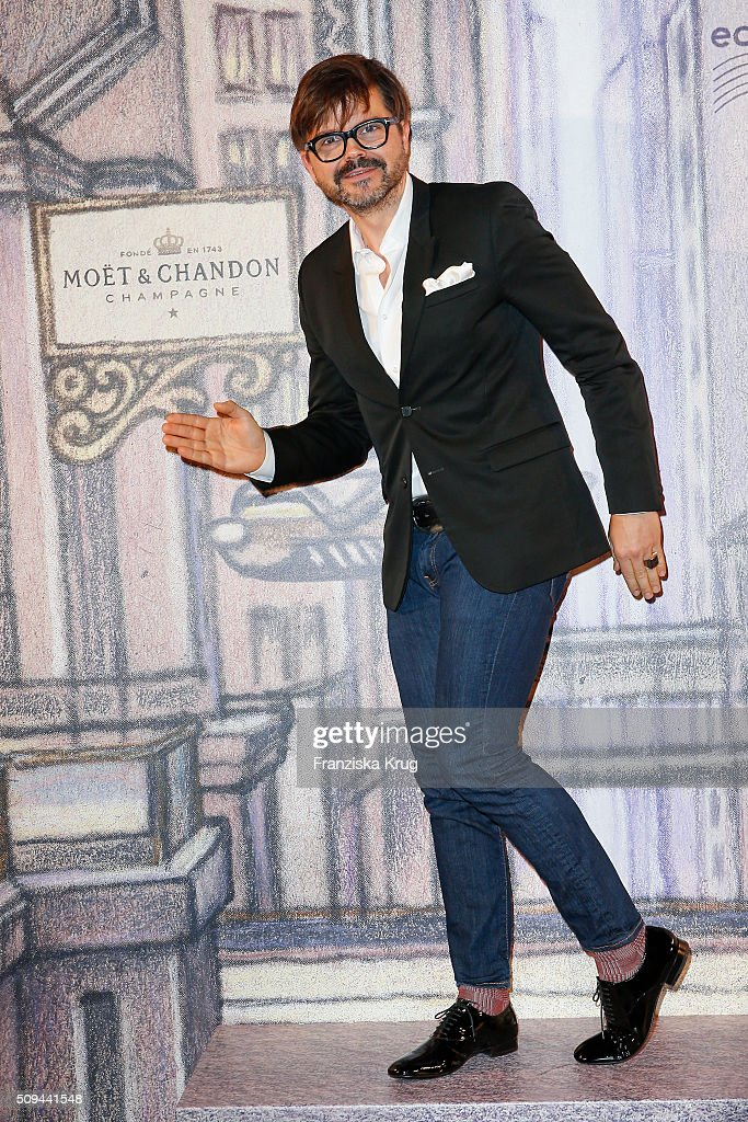 Kristian Schuller attends the Moet & Chandon Grand Scores 2016 at Hotel De Rome on February 6, 2016 in Berlin, Germany.