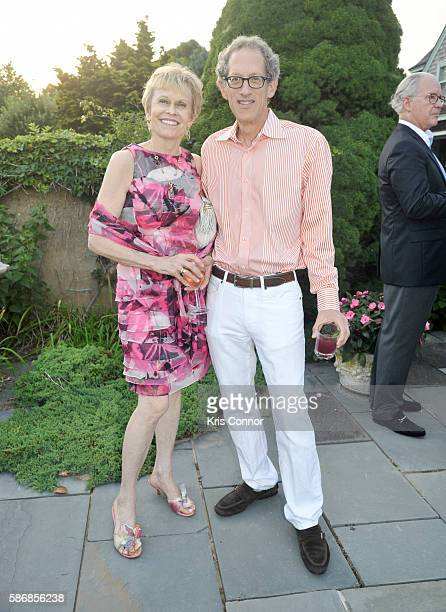 Kristiina Laakso and Richard Zoglin attend a cocktail party introducing Friends of Quinn Understood The National Center for Learning Disabilities...
