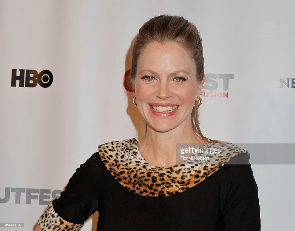 Kristin Bauer van Straten attends the OutFest Fusion LGBT People of Color Film Festival closing night at the Egyptian Theatre on March 23, 2013 in Hollywood, California.