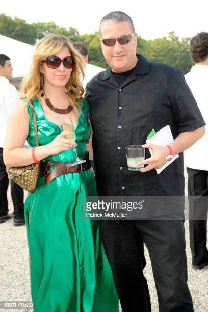 Kristin Bowler and Spencer Tunick attend 'Inferno' The 16th Annual WATERMILL CENTER Summer Benefit at The Watermill Center on July 25 2009 in...