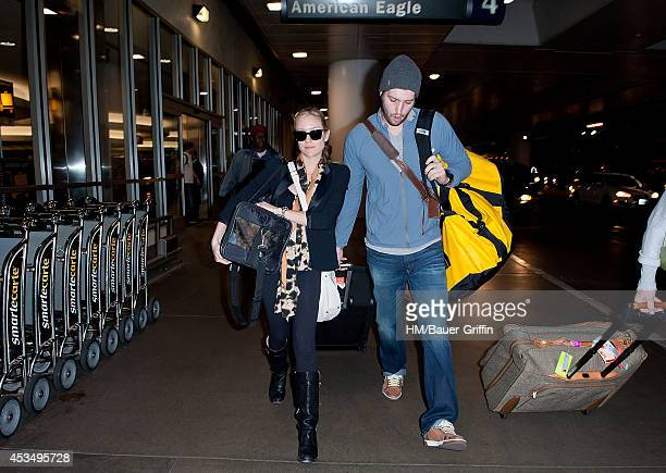 Kristin Cavallari and Jay Cutler are seen at Los Angeles International Airport on February 23 2012 in Los Angeles California
