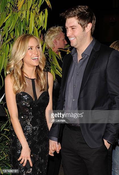 Kristin Cavallari and Jay Cutler arrive at the Cirque du Soleil 'OVO' Celebrity Opening Night Gala at Santa Monica Pier on January 20 2012 in Santa...