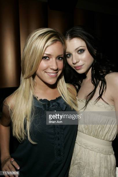 Kristin Cavallari and Michelle Trachtenberg during Olympus Fashion Week Spring 2007 Rock Republic After Party at Tenjune in New York City New York...