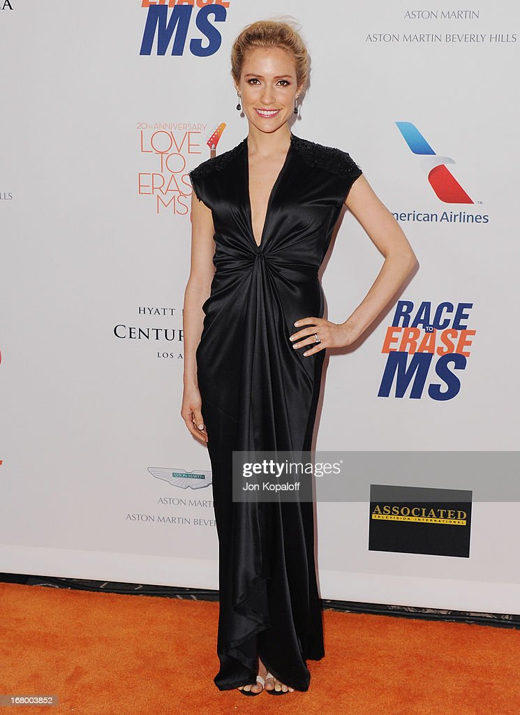 <a gi-track='captionPersonalityLinkClicked' href=/galleries/search?phrase=Kristin+Cavallari&family=editorial&specificpeople=552572 ng-click='$event.stopPropagation()'>Kristin Cavallari</a> arrives at the 20th Annual Race To Erase MS 'Love To Erase MS' Gala at the Hyatt Regency Century Plaza on May 3, 2013 in Century City, California.