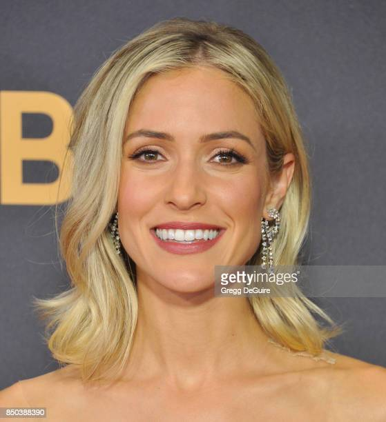 Kristin Cavallari arrives at the 69th Annual Primetime Emmy Awards at Microsoft Theater on September 17 2017 in Los Angeles California