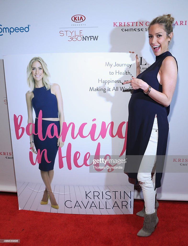 Kristin Cavallari attends as KIA STYLE360 Hosts Kristin Cavallari By Chinese Laundry At Row NYC on September 17 2015 in New York City