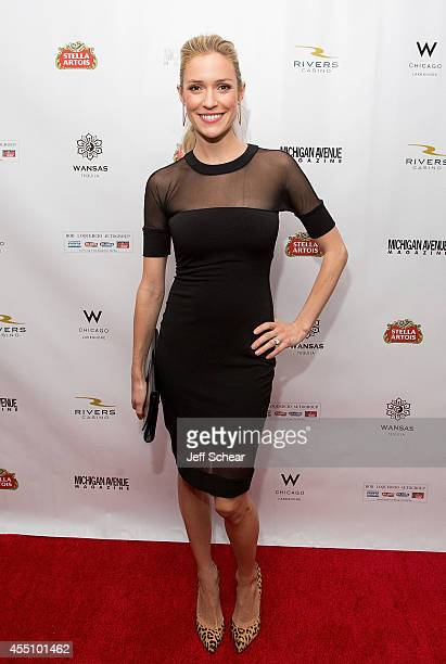 Kristin Cavallari attends Michigan Avenue Magazine's Fall Fashion Issue Celebration With Kristin Cavallari at W Chicago Lakeshore on September 9 2014...