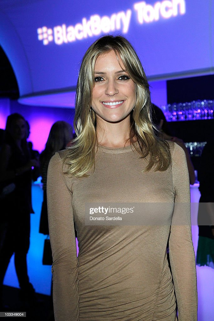 Kristin Cavallari attends the BlackBerry Torch from ATT US Launch Party on August 11 2010 in Los Angeles California