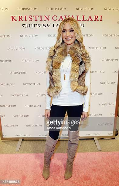 Kristin Cavallari attends the Kristen Cavallari Chinese Laundry event at Nordstrom on October 18 2014 in Chicago Illinois