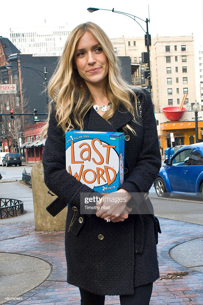 <a gi-track='captionPersonalityLinkClicked' href=/galleries/search?phrase=Kristin+Cavallari&family=editorial&specificpeople=552572 ng-click='$event.stopPropagation()'>Kristin Cavallari</a> buys Last Word Party Game on January 28, 2013 in Chicago, Illinois.