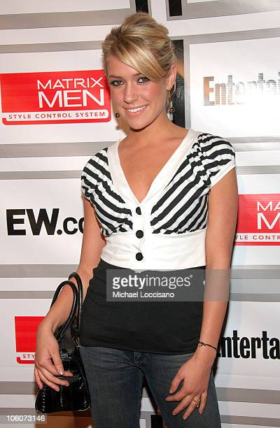 Kristin Cavallari during Entertainment Weekly/Matrix Men 2006 Upfront Party at The Manor in New York City New York United States