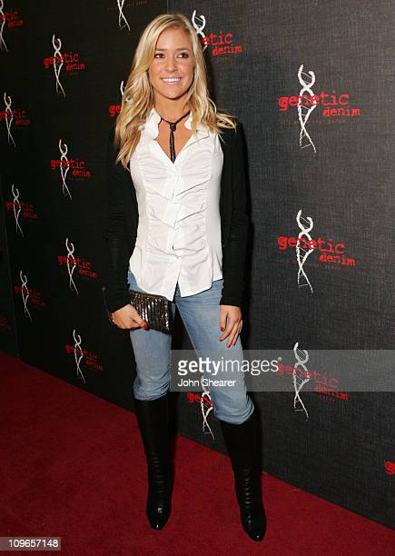 Kristin Cavallari during Genetic Denim's OneYear Anniversary and the Launch of Their ReVamped Collection Red Carpet at Area in Los Angeles California...