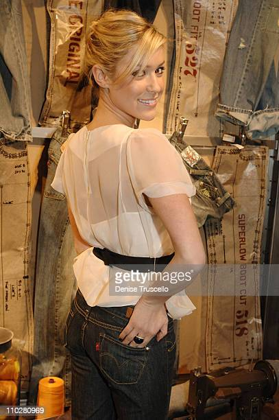 Kristin Cavallari during Levi's Store Opening February 16 2006 at Levis Store in The Fashion Show Mall in Las Vegas Nevada United States