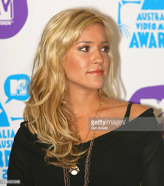Kristin Cavallari during MTV Australia Video Music Awards 2007 Press Conference at Hilton Hotel in Sydney NSW Australia