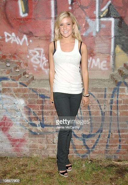 Kristin Cavallari during Olympus Fashion Week Spring 2007 Miss Sixty After Party at The Dome at The Soho Grand Hotel in New York City New York United...