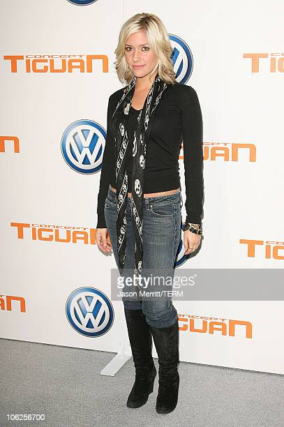 Kristin Cavallari during Volkswagen Presents The US Premiere of CONCEPT TIGUAN Arrivals at Raleigh Studios in Hollywood California United States