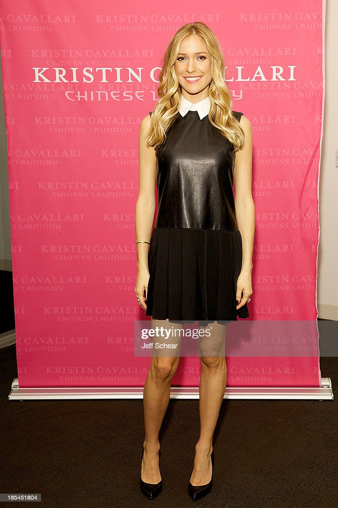 <a gi-track='captionPersonalityLinkClicked' href=/galleries/search?phrase=Kristin+Cavallari&family=editorial&specificpeople=552572 ng-click='$event.stopPropagation()'>Kristin Cavallari</a> hosts Akira's 11th annual Fall Fashion Show featuring <a gi-track='captionPersonalityLinkClicked' href=/galleries/search?phrase=Kristin+Cavallari&family=editorial&specificpeople=552572 ng-click='$event.stopPropagation()'>Kristin Cavallari</a> by Chinese Laundry on October 20, 2013 in Chicago, Illinois.