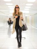 Kristin Cavallari is seen arriving at LAX airport on November 19 2013 in Los Angeles California