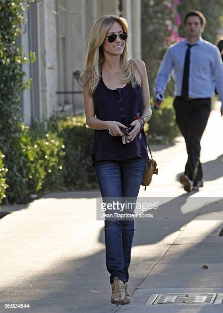 Kristin Cavallari sighting on January 7 2010 in Los Angeles California