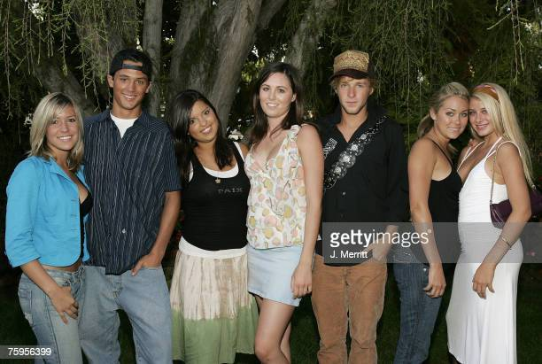 Kristin Cavallari Stephen Colletti Lauren Conrad and other castmembers of MTV's 'Laguna Beach The Real Orange County'