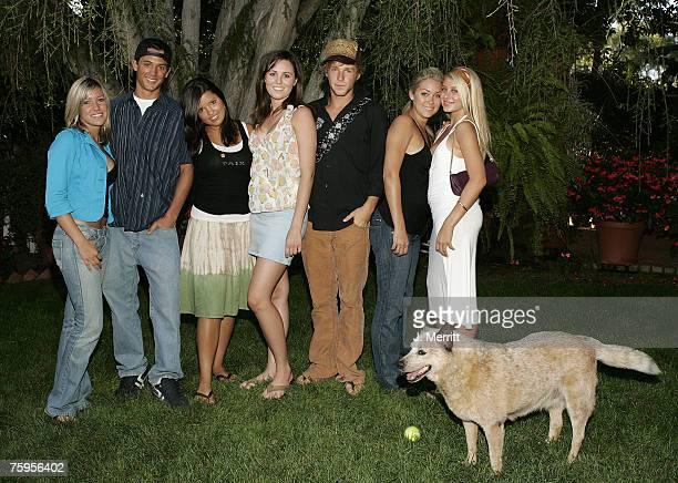 Kristin Cavallari Stephen Colletti Lauren Conrad and other castmembers of MTV's 'Laguna Beach The Real Orange County'