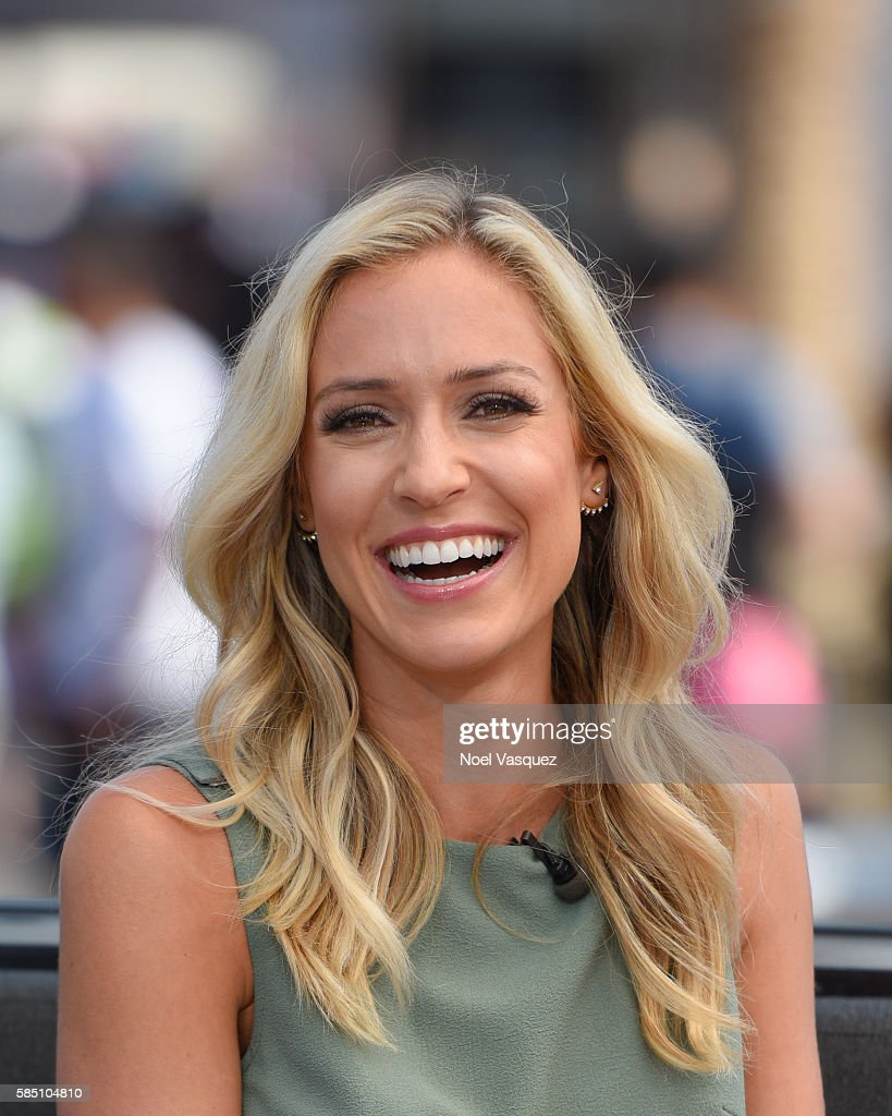 Kristin Cavallari visits 'Extra' at Universal Studios Hollywood on August 1 2016 in Universal City California