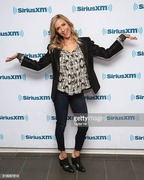 Kristin Cavallari visits the SiriusXM Studios on March 16 2016 in New York City