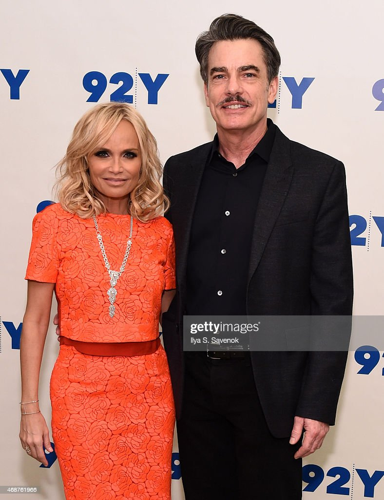 Kristin Chenoweth and Peter Gallagher attend 92nd Street Y Presents Back On Broadway Kristin Chenoweth And Peter Gallagher at 92nd Street Y on April...