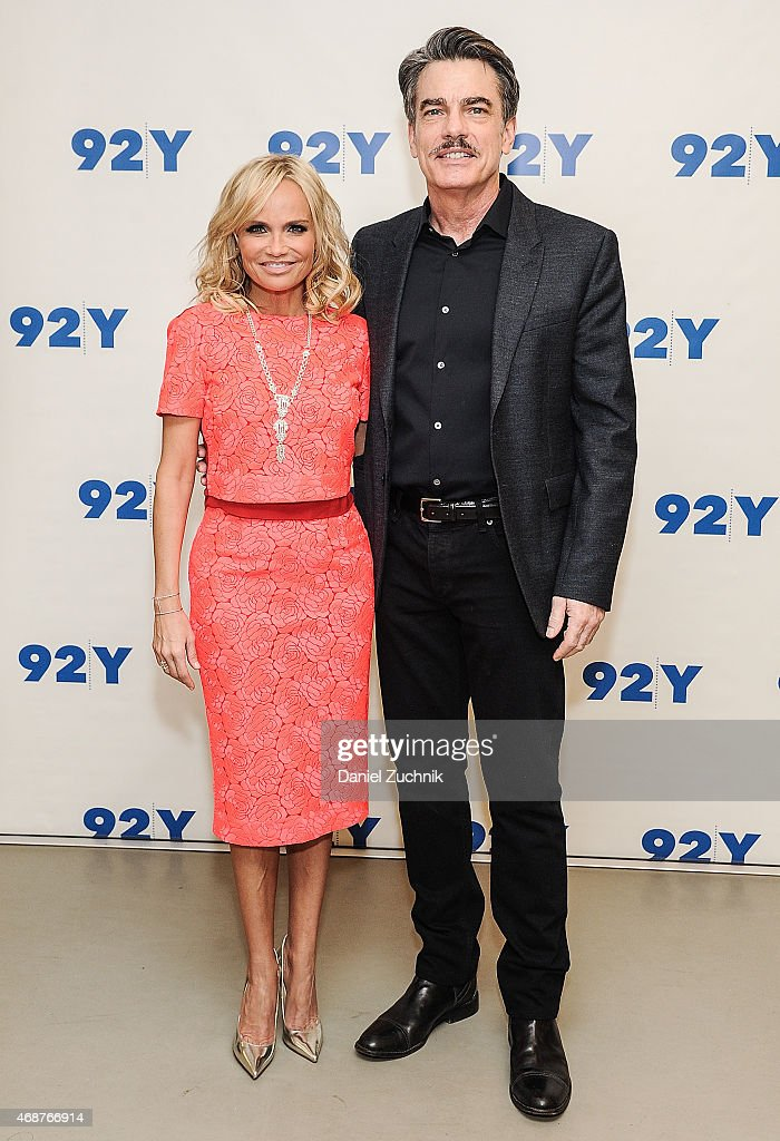 Kristin Chenoweth and Peter Gallagher attend the 92nd Street Y Presents Back on Broadway Kristin Chenoweth And Peter Gallagher at 92nd Street Y on...