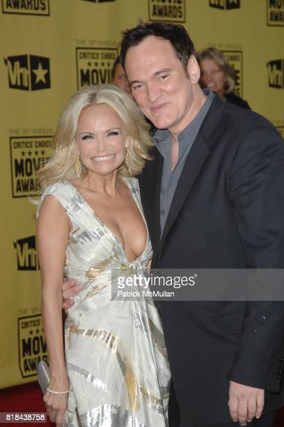 Kristin Chenoweth and Quentin Tarantino attend 2010 Critics Choice Awards at The Palladium on January 15 2010 in Hollywood California