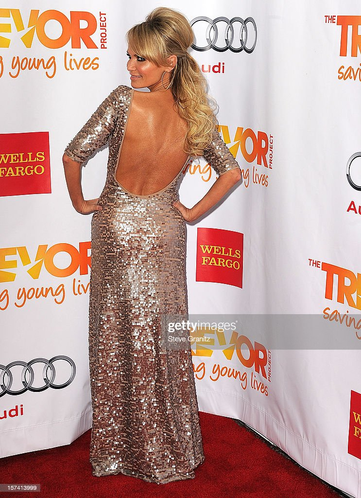 Kristin Chenoweth arrives at the The Trevor Project's 2012 'Trevor Live' Event Honoring Katy Perry at Hollywood Palladium on December 2, 2012 in Hollywood, California.