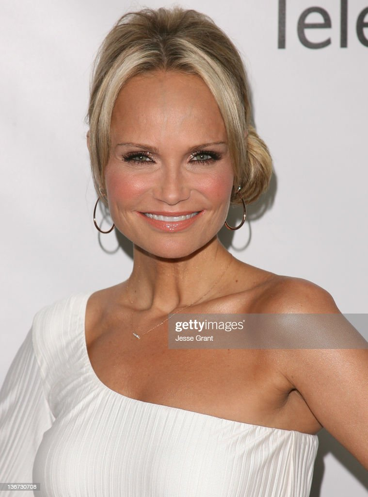Kristin Chenoweth arrives to Disney ABC Television Group's 'TCA Winter Press Tour' at the Langham Huntington Hotel on January 10, 2012 in Pasadena, California.