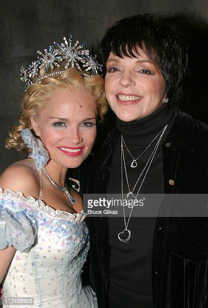 Kristin Chenoweth as 'Glinda the Good Witch' and Liza Minnelli *Exclusive*