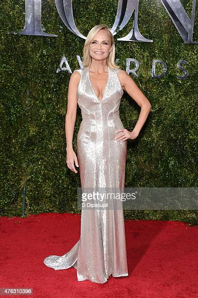 Kristin Chenoweth attends American Theatre Wing's 69th Annual Tony Awards at Radio City Music Hall on June 7 2015 in New York City