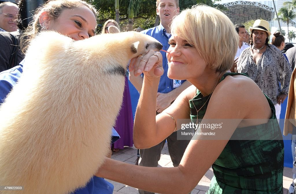 Kristin Chenoweth attends Miami Walk of Fame Inauguration at Bayside at Bayside Marketplace on March 21, 2014 in Miami, Florida.