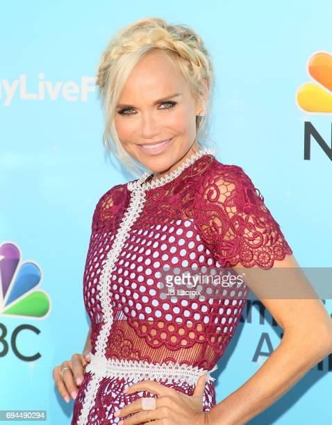 Kristin Chenoweth attends NBC's 'Hairspray Live' FYC event on June 09 2017 in North Hollywood California