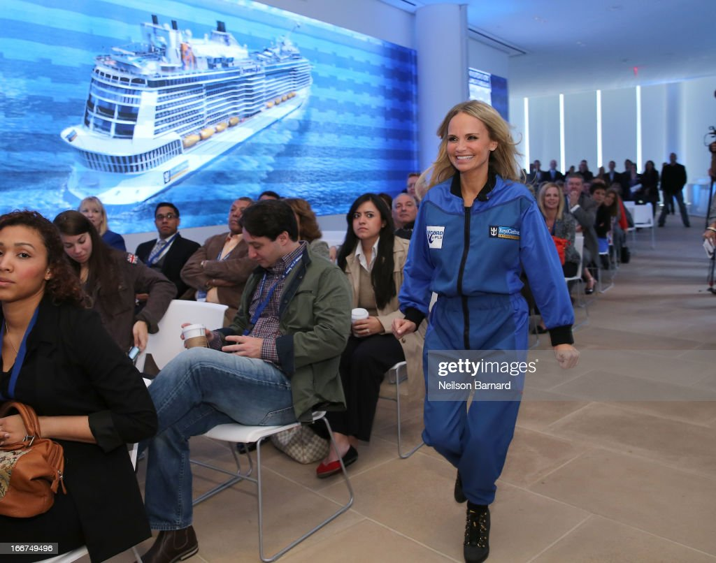 <a gi-track='captionPersonalityLinkClicked' href=/galleries/search?phrase=Kristin+Chenoweth&family=editorial&specificpeople=207096 ng-click='$event.stopPropagation()'>Kristin Chenoweth</a> attends Royal Caribbean International reveals groundbreaking Quantum-Class ships on April 16, 2013 in New York City.
