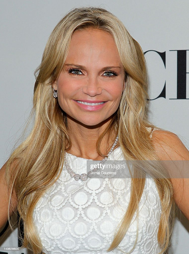 Kristin Chenoweth attends the 2012 Tony Awards Nominations Announcement at The New York Public Library for Performing Arts on May 1, 2012 in New York City.