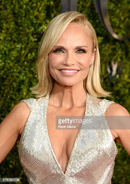 Kristin Chenoweth attends the 2015 Tony Awards at Radio City Music Hall on June 7 2015 in New York City
