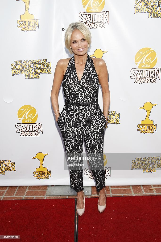 <a gi-track='captionPersonalityLinkClicked' href=/galleries/search?phrase=Kristin+Chenoweth&family=editorial&specificpeople=207096 ng-click='$event.stopPropagation()'>Kristin Chenoweth</a> attends the 40th Annual Saturn Awards at The Castaway on June 26, 2014 in Burbank, California.
