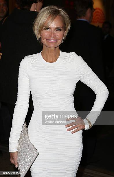 Kristin Chenoweth attends the Broadway Opening Night of 'Cabaret' at Studio 54 on April 24 2014 in New York City