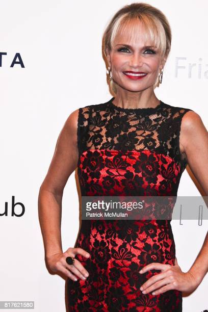 Kristin Chenoweth attends THE NEW YORK FRIARS CLUB ROAST OF QUENTIN TARANTINO at Friars Club on December 1 2010 in New York City