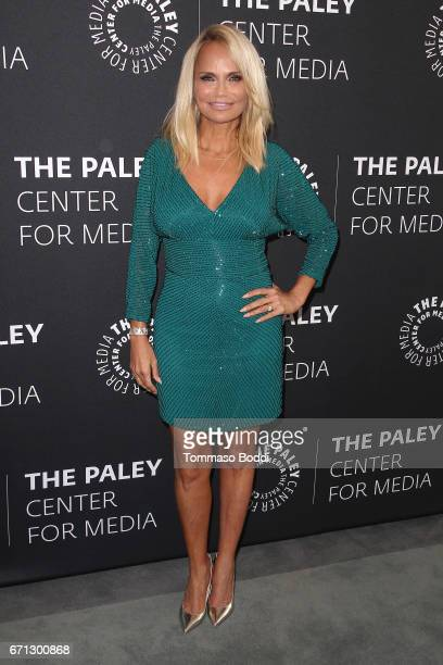 Kristin Chenoweth attends the Paley Center For Media Presents A Press Preview Of 'You Can't Stop The Beat The Art And Artistry Of Hairspray Live' at...