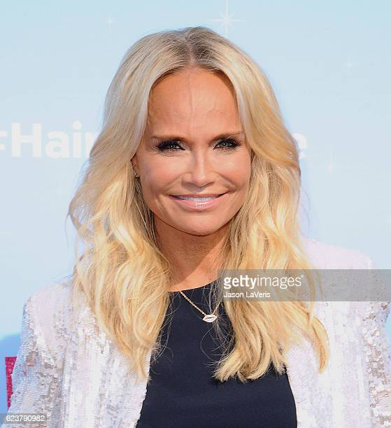 Kristin Chenoweth attends the press junket for NBC's 'Hairspray Live' at NBC Universal Lot on November 16 2016 in Universal City California