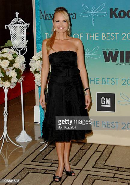 Kristin Chenoweth during 2007 Women in Film Crystal Lucy Awards Arrivals at The Beverly Hilton Hotel in Beverly Hills California United States