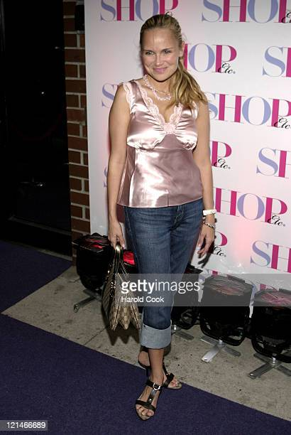 Kristin Chenoweth during Hearst Magazine Launches New One Stop Shopping Magazine 'SHOP Etc' at Milk Studios in New York New York United States